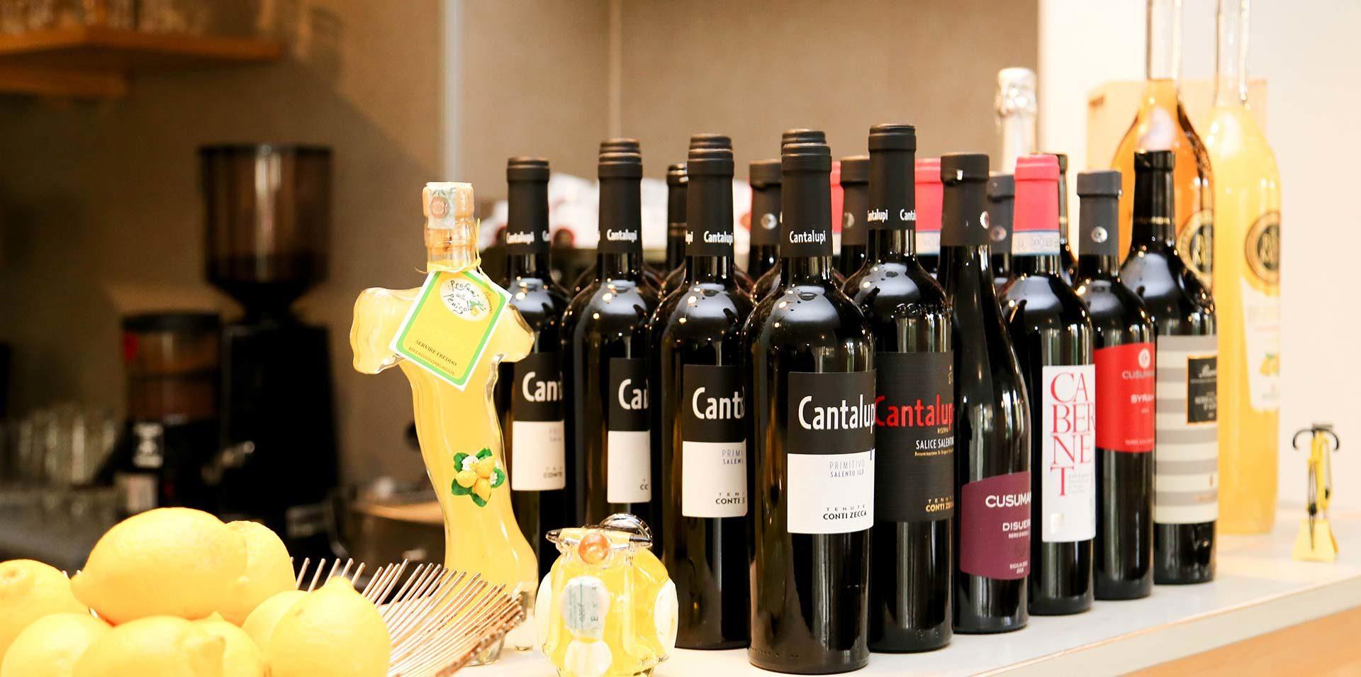 Wein im Ristorante Limoncello